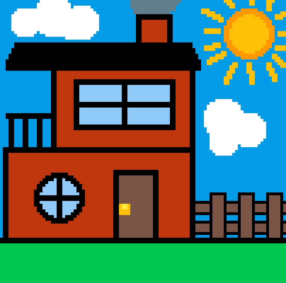house by jackloves16bit