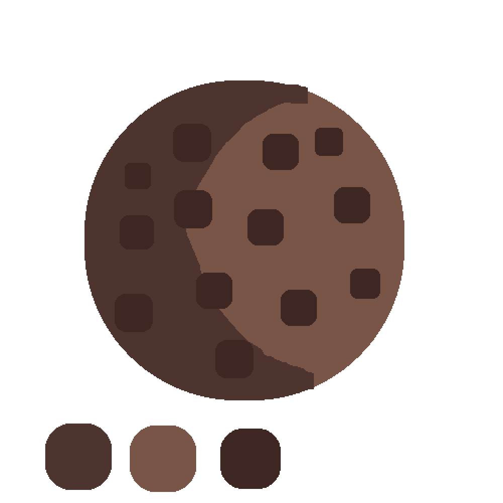 3 color chocolate chip cookie! by KittyCute10