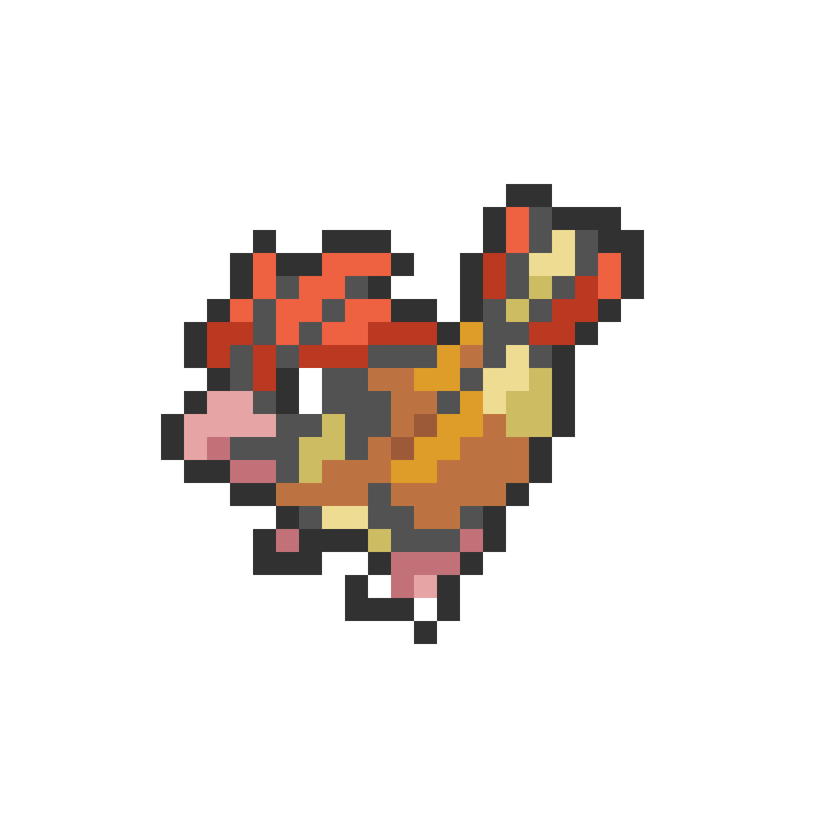 #017 Pidgeotto Mini Sprite by Andruru