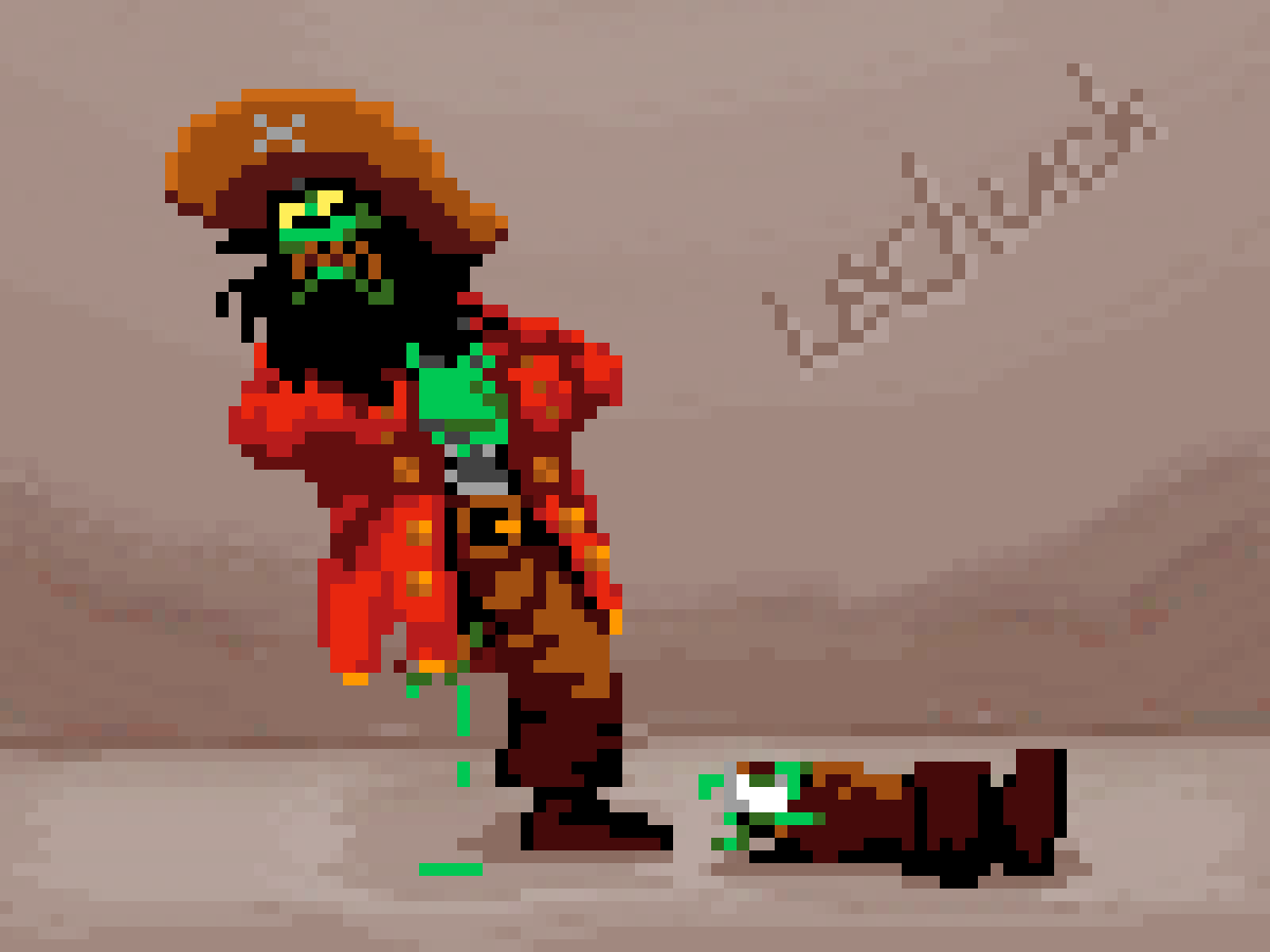 leChuck tormented by Voodoo by mamanon
