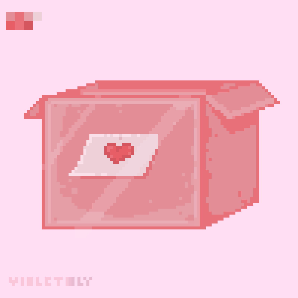 warning! this box contains love ♡ by violetiiily