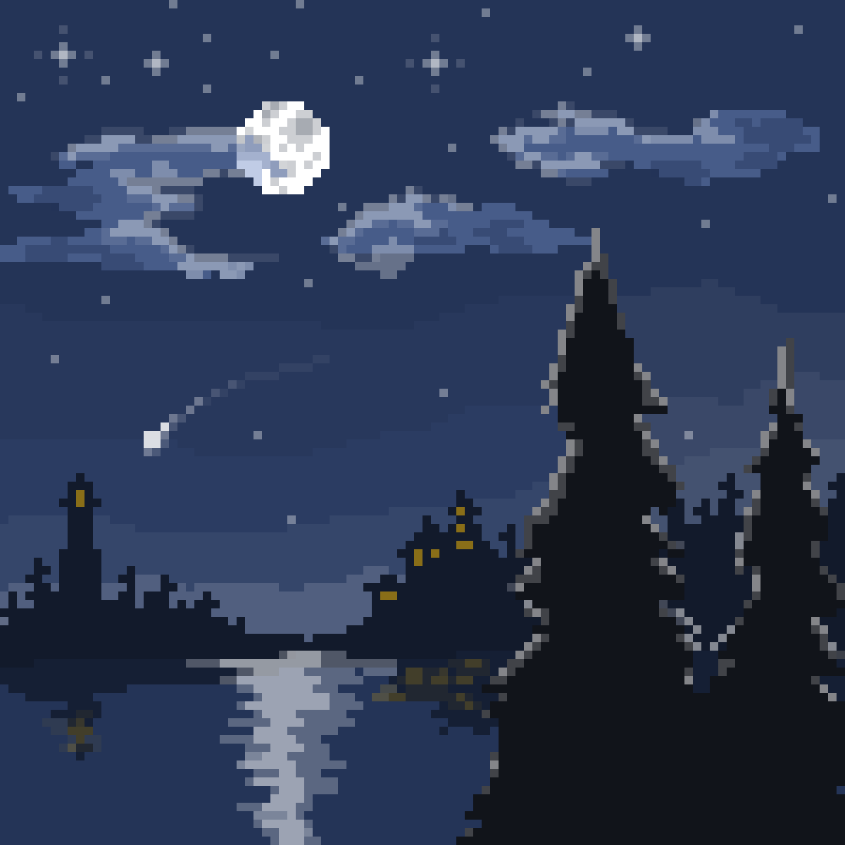 main-image-Midnight by the Bay  by 8-bit-adventure