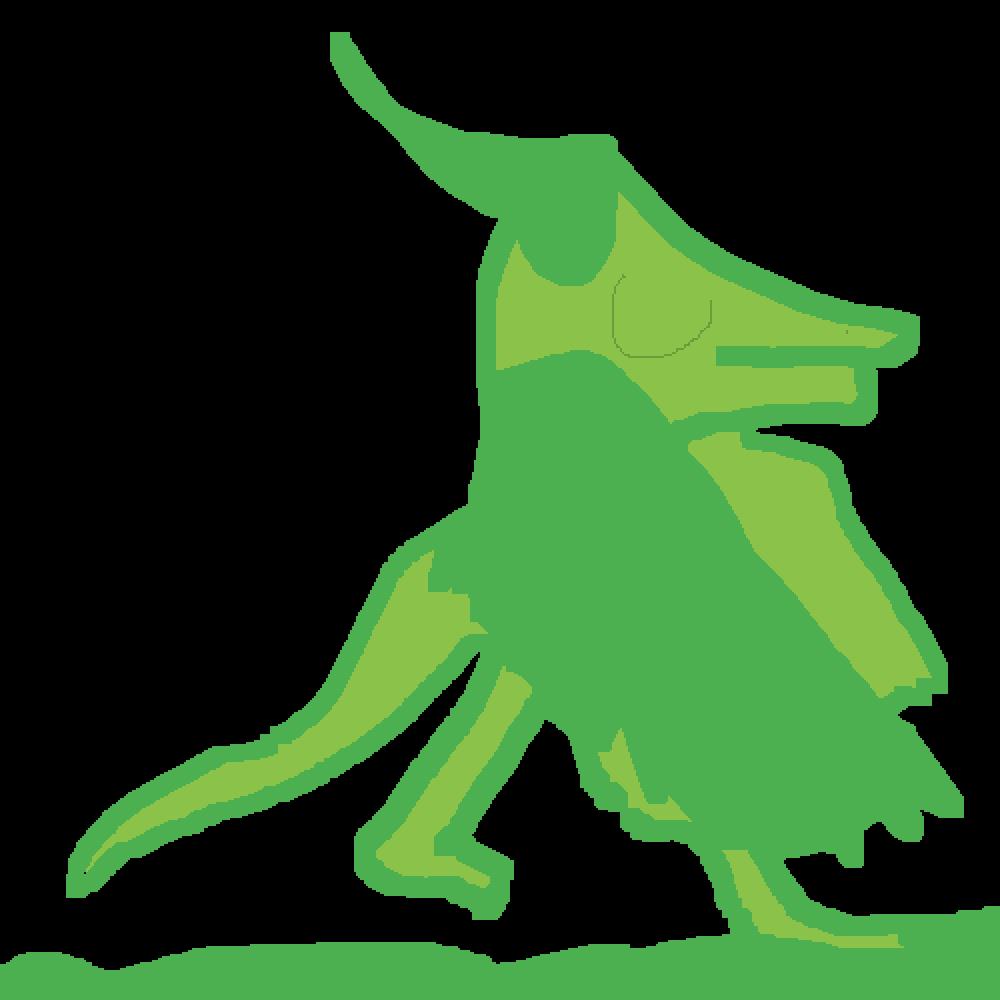 a leaf dragon by DragonGamer1178