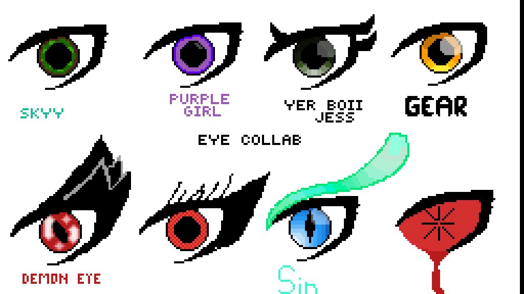 #Eye Collab Nightmare Eye by PandaChan827