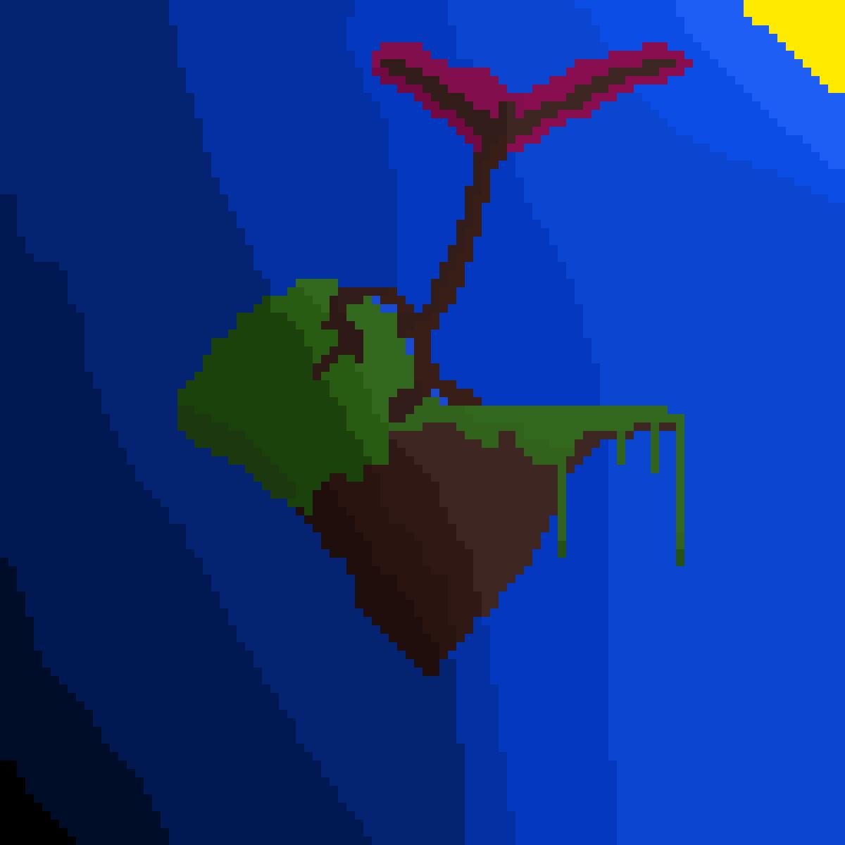 flying island by NEKRO