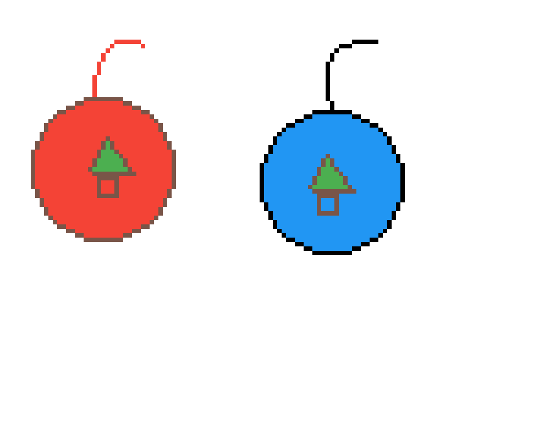 Christmas ornaments by JTG