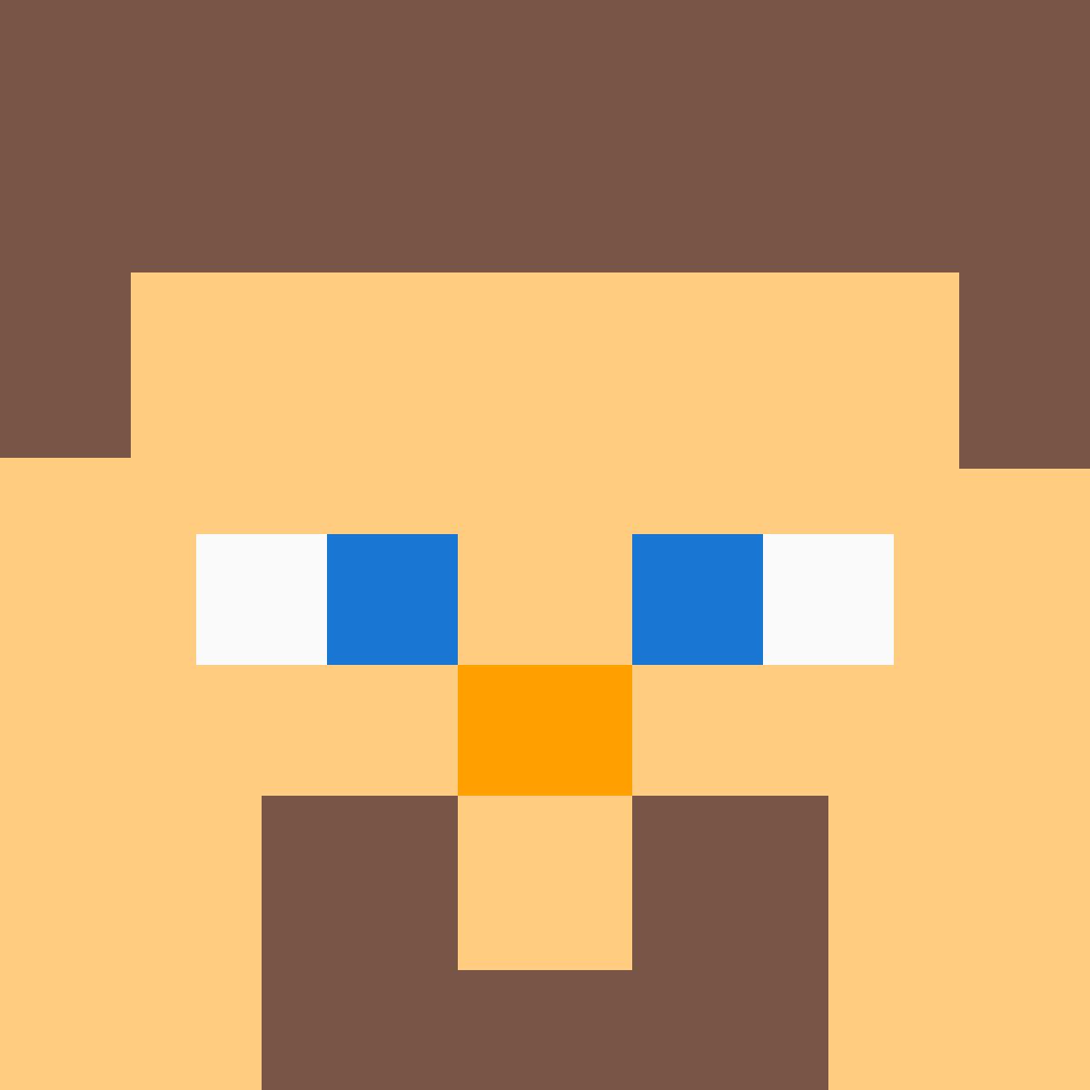 Pixilart Minecraft Steve Head By Combackgodess