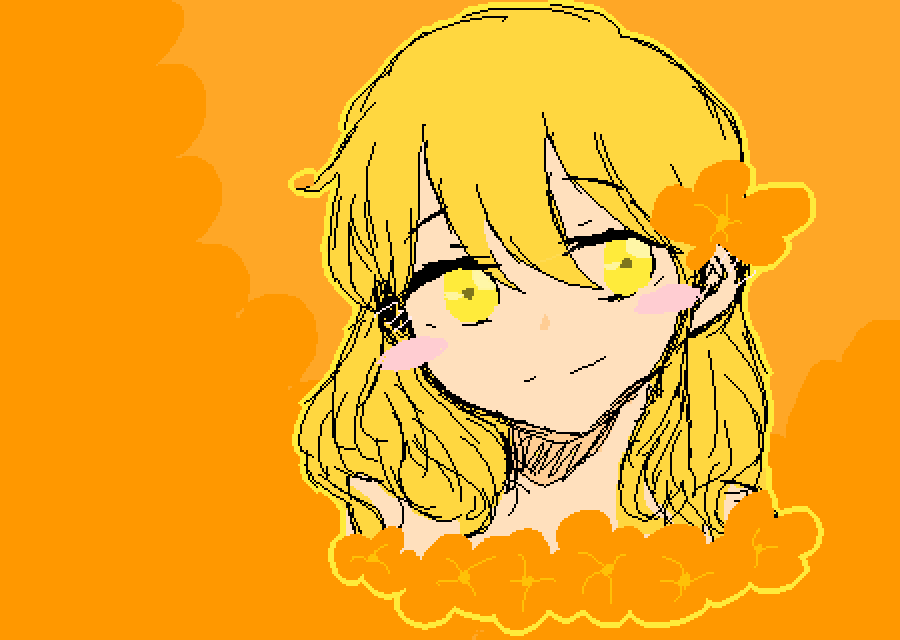 Orange and Yellow. by AnimeisLifeHueh