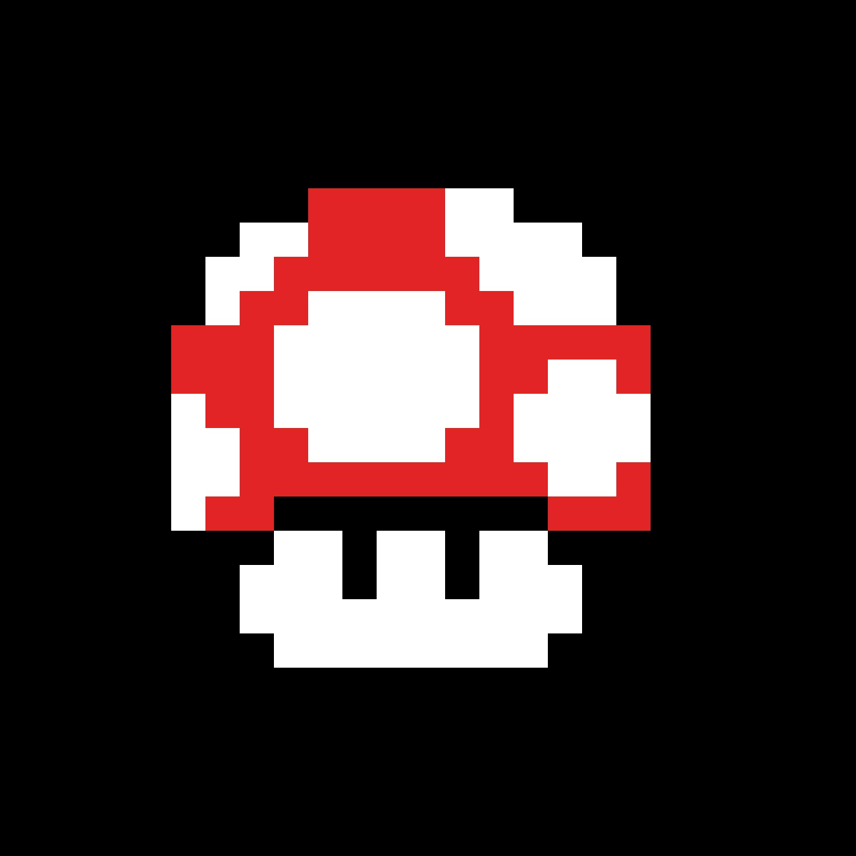 Pixilart Super Mario Mushroom By Pixlos
