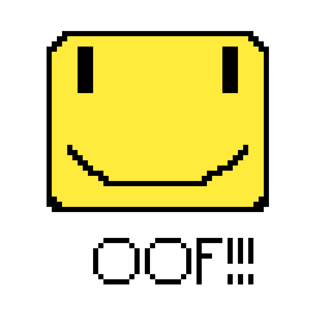 Oof Roblox Face Png Pixilart Roblox Face Enjoy By Epicgamr