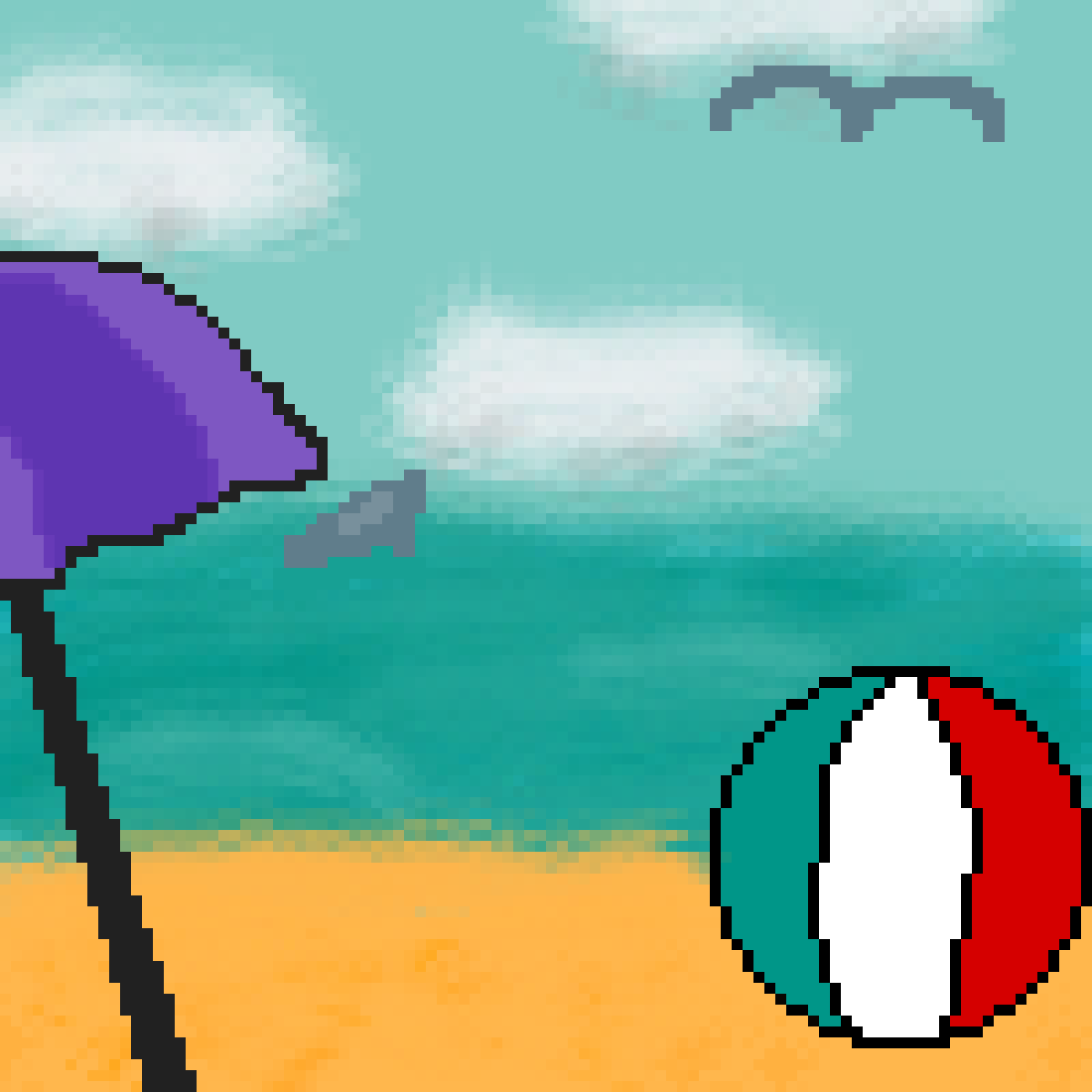 main-image-Beach Ball  by LionArtist