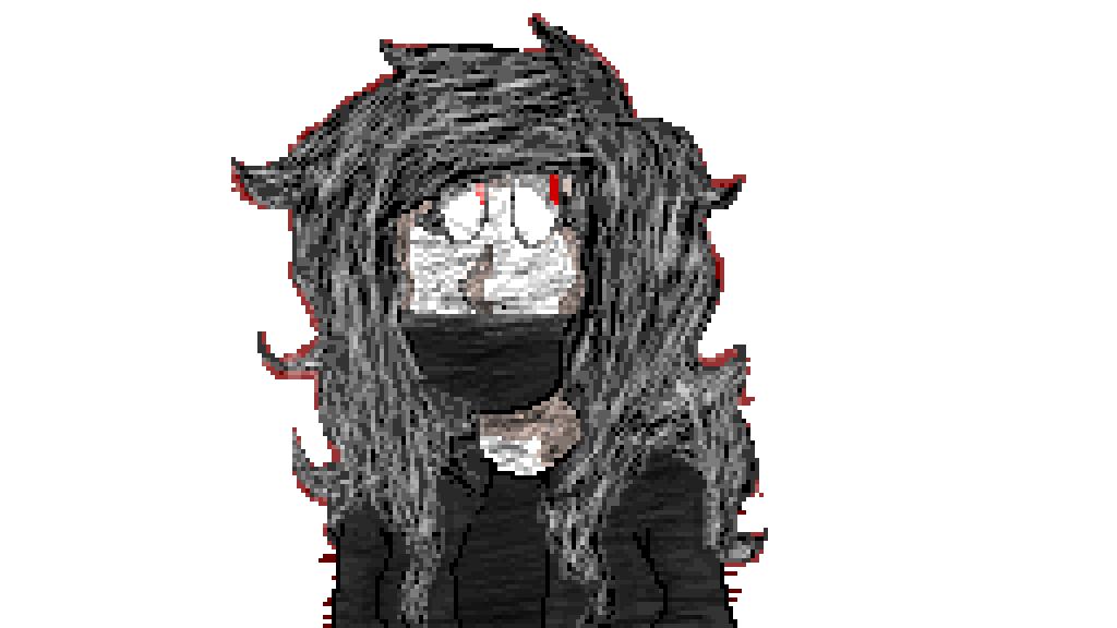 Pixilart Pencil Drawing Of Sad Emo Girl By Amaryllis