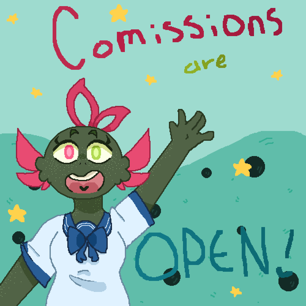 Commissions Are Open! (again) by SpaceUniBros