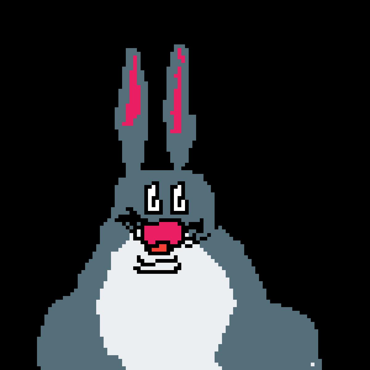 Pixilart Big Chungus By Anonymous