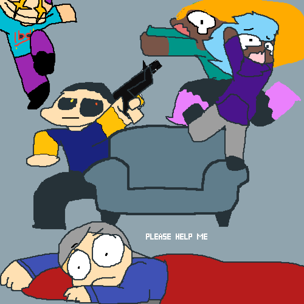 when me and my friends are at a sleepover together by sigilyph9365