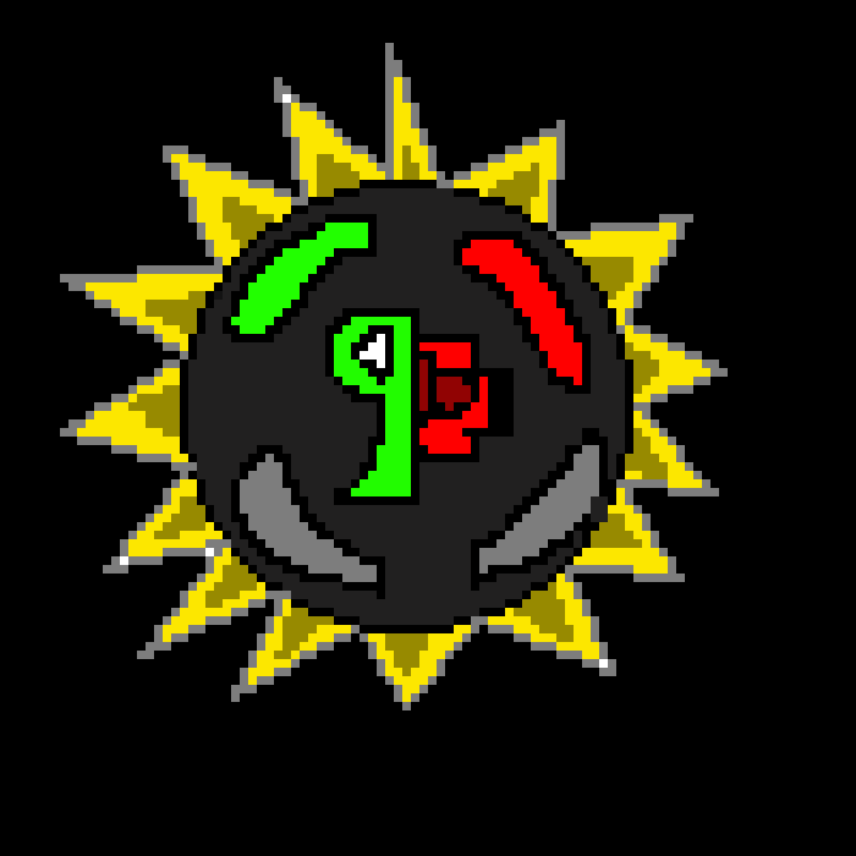Pixilart Game Film Theory Logos By Blackcreeper