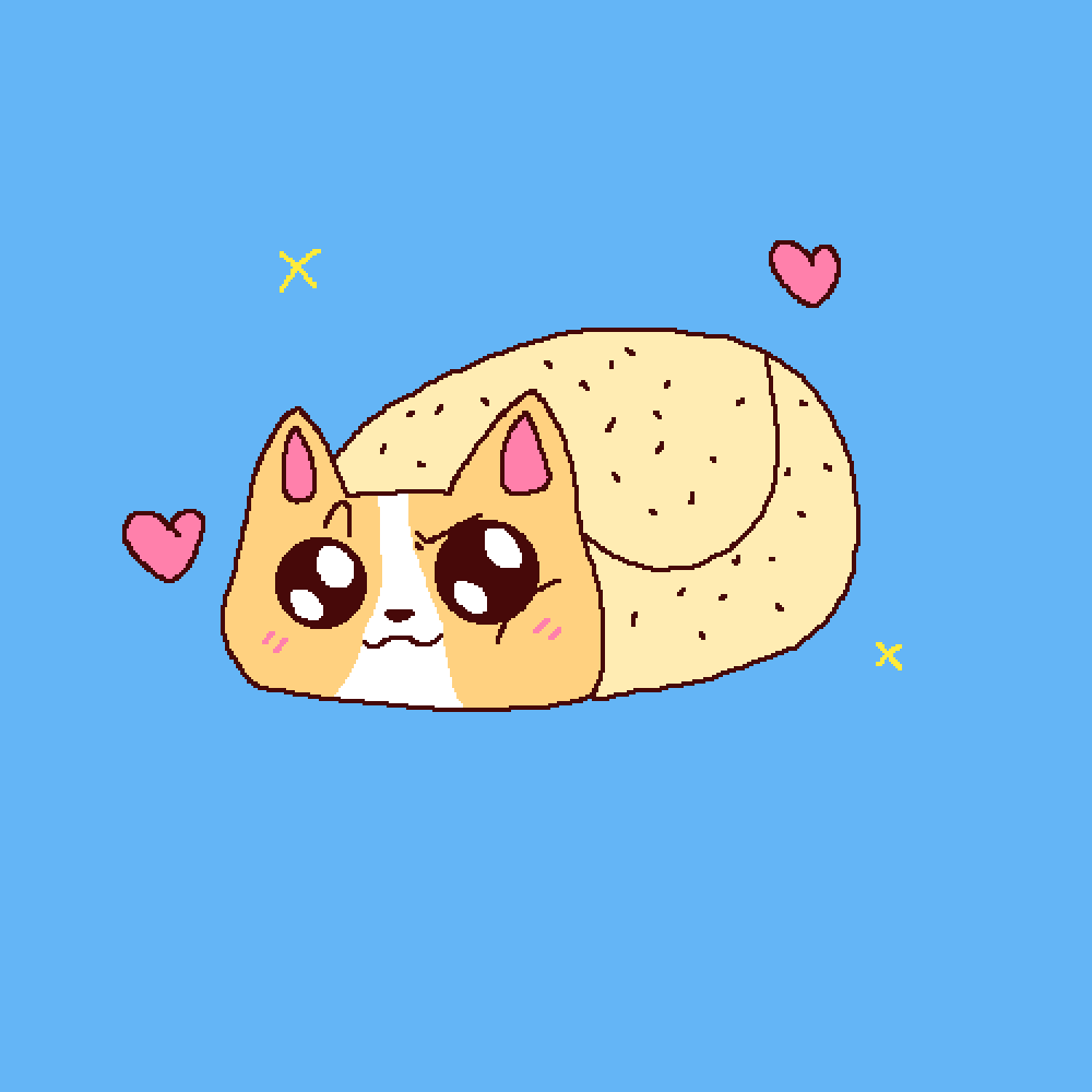 Pixilart Cat Or Dog Burrito By Blue Clouds