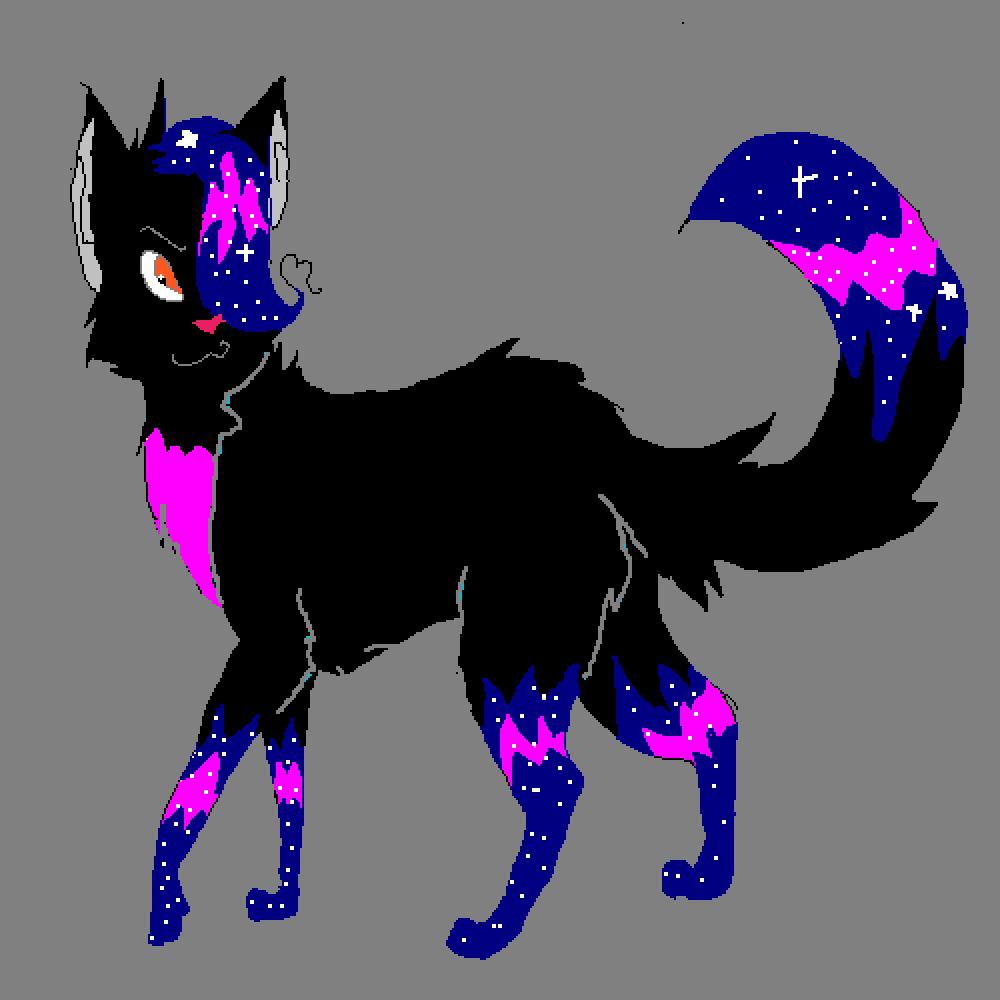 me cosmic derpy wolf
