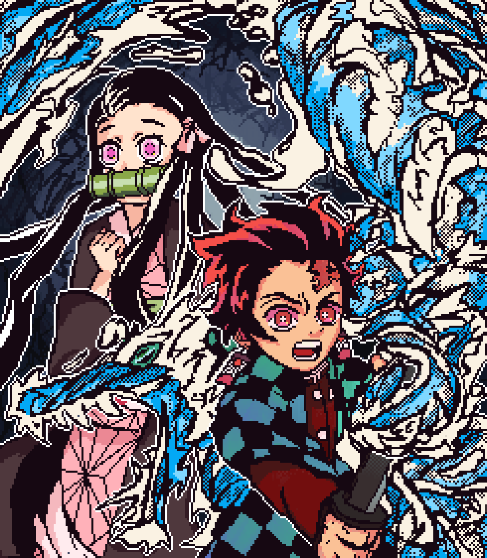 Demon and Water