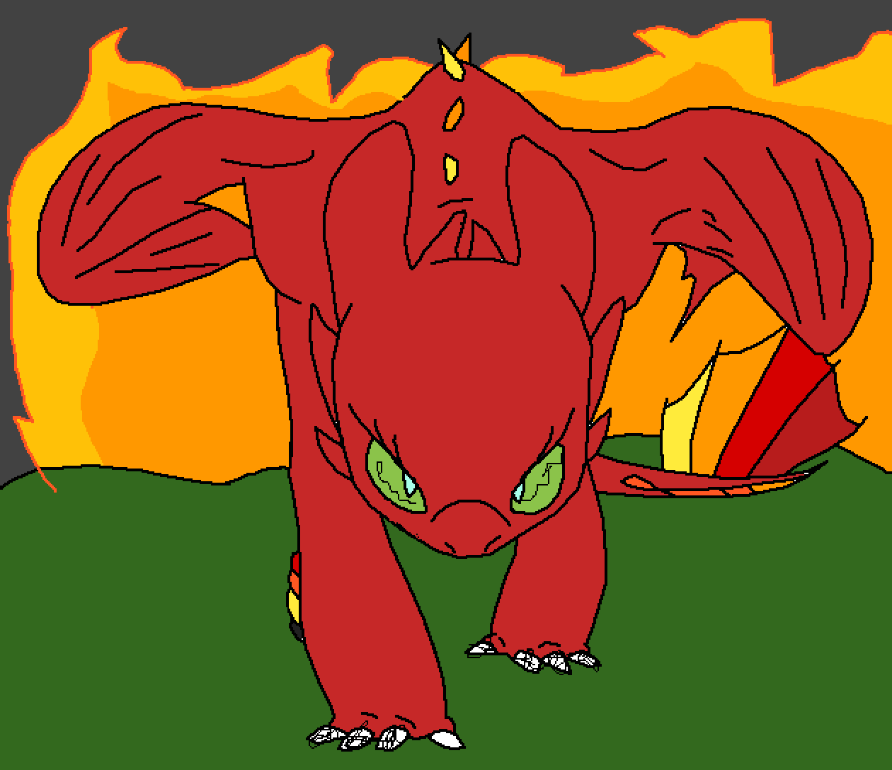 Dragon by 123baller