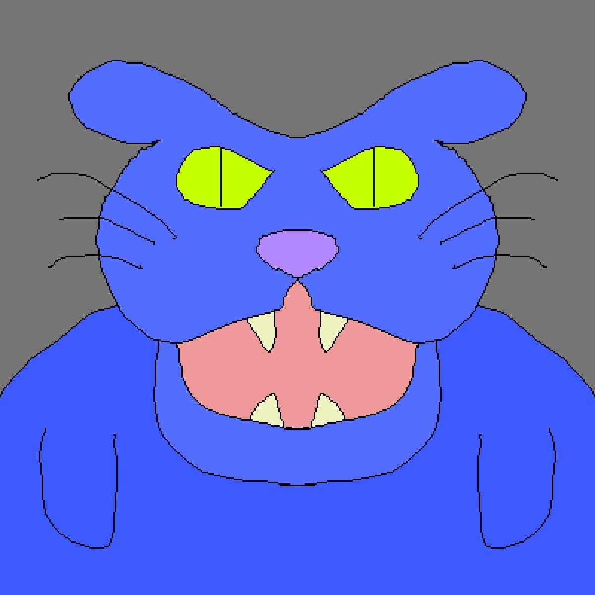 Mr Evil Bunny by LizardmyWizard