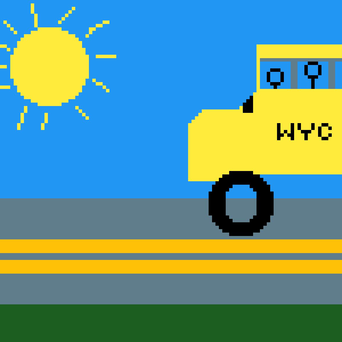 School Bus by Dogsandfrogs