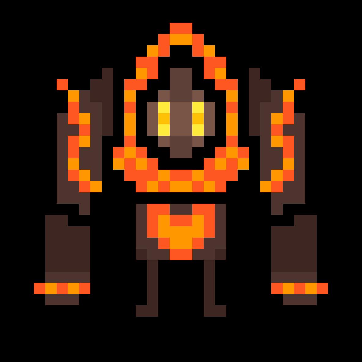 a heart-warming magma titan by Smalbam64