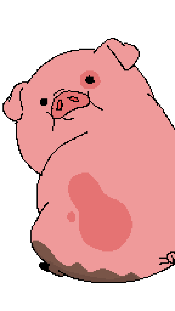 Waddles!!!!!!! by Aaron816