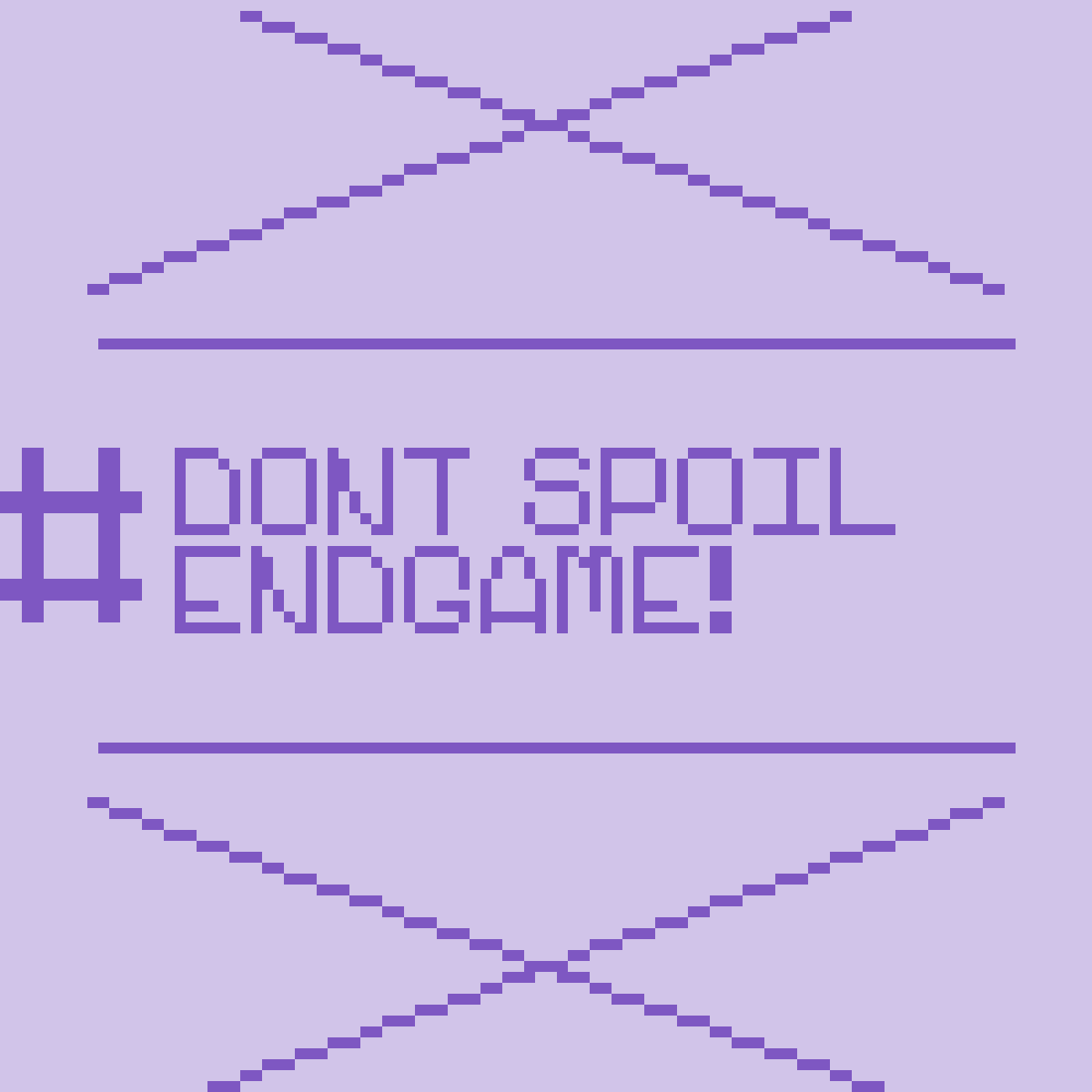 #DON'T SPOIL ENDGAME by Doggothedragon