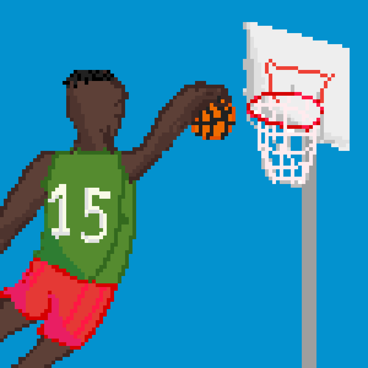 basketball challenge by That8-BitDude