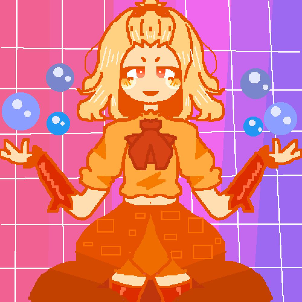 feeling orange by bubble-tea-xx