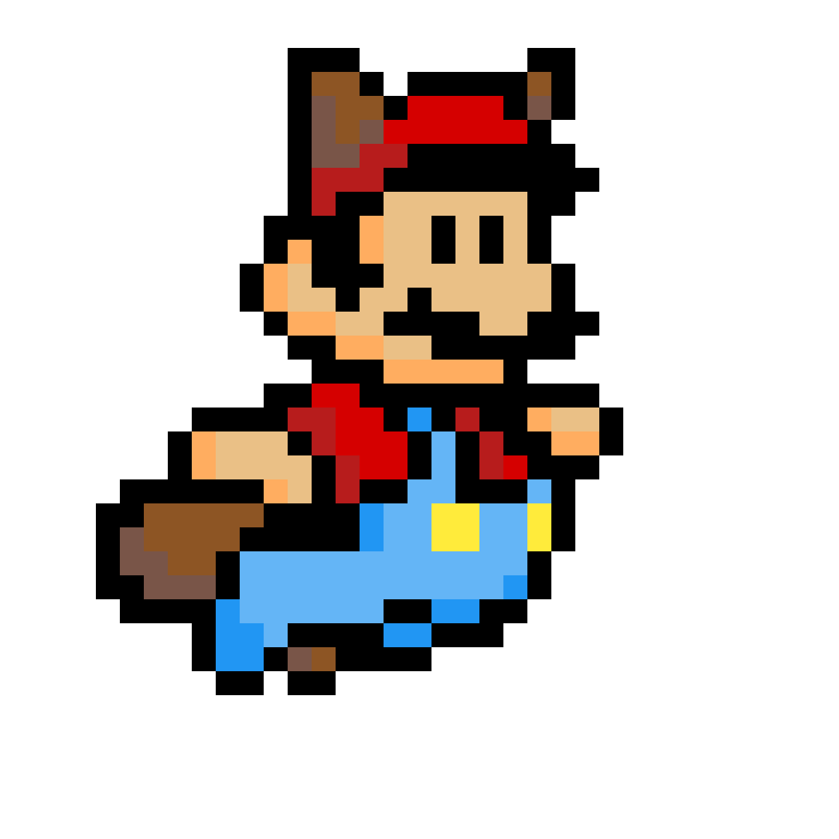 Pixilart Mario From Super Mario Bros 3 By Unkn0wnartist