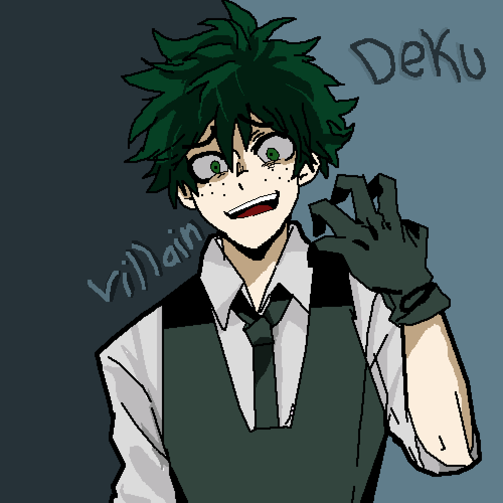Villain! Deku By That1TransKid