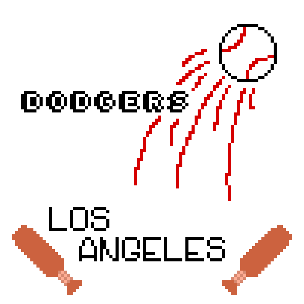 """""""Gotta love the Dodgers"""" by CuriousBirb"""