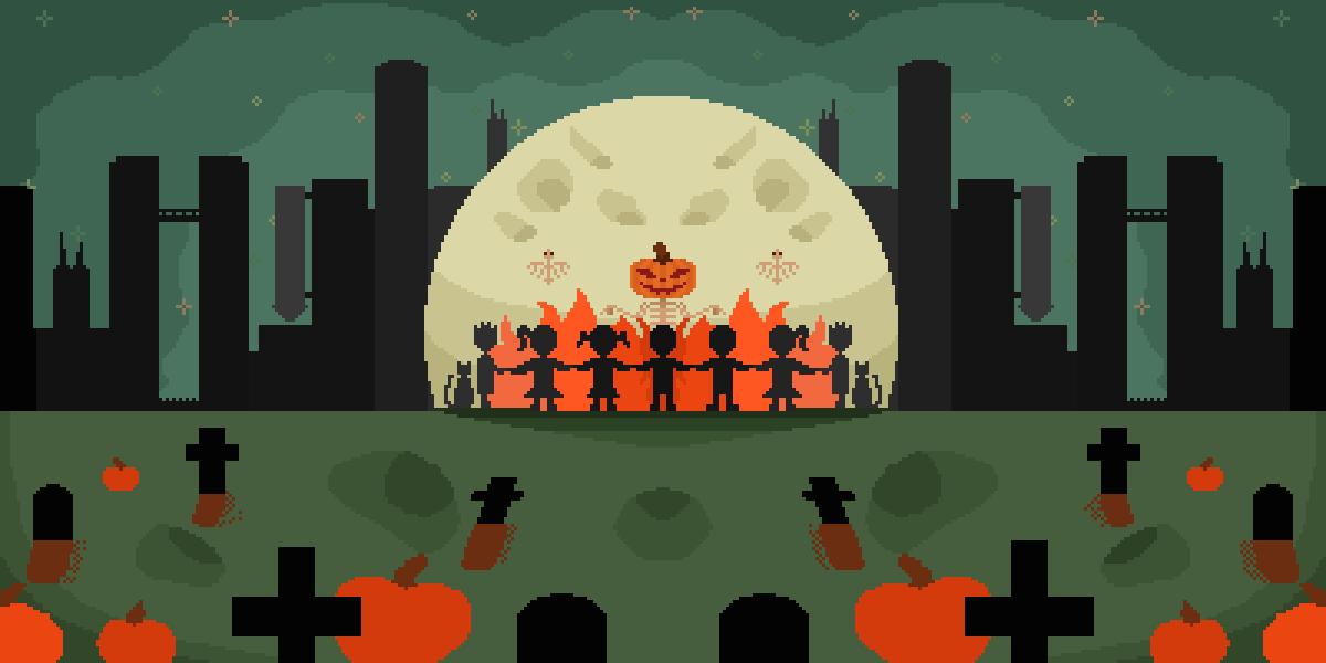 Pumpkin Worship by LeoTheLeon