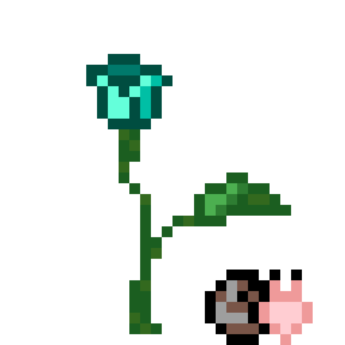 A tulip with a snail <3 by Asturd