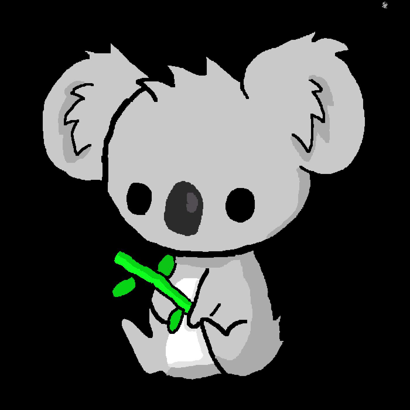 Pixilart - Cute Kawaii Koala! by DerpyDrawing