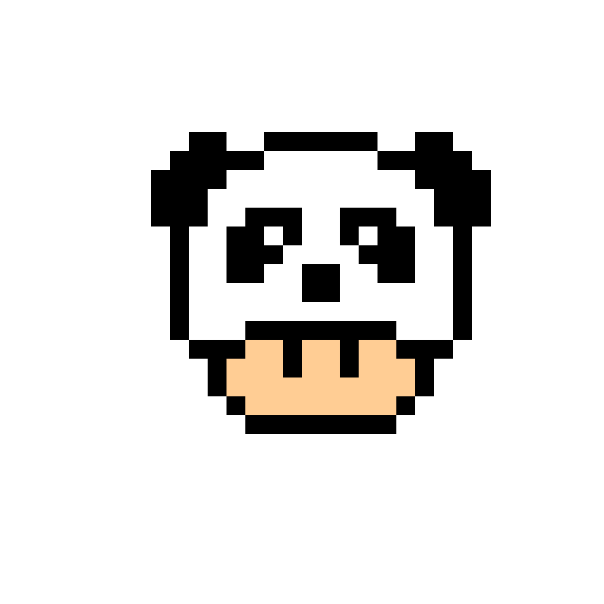 These E Salarizaredessin Pixel Facile Panda