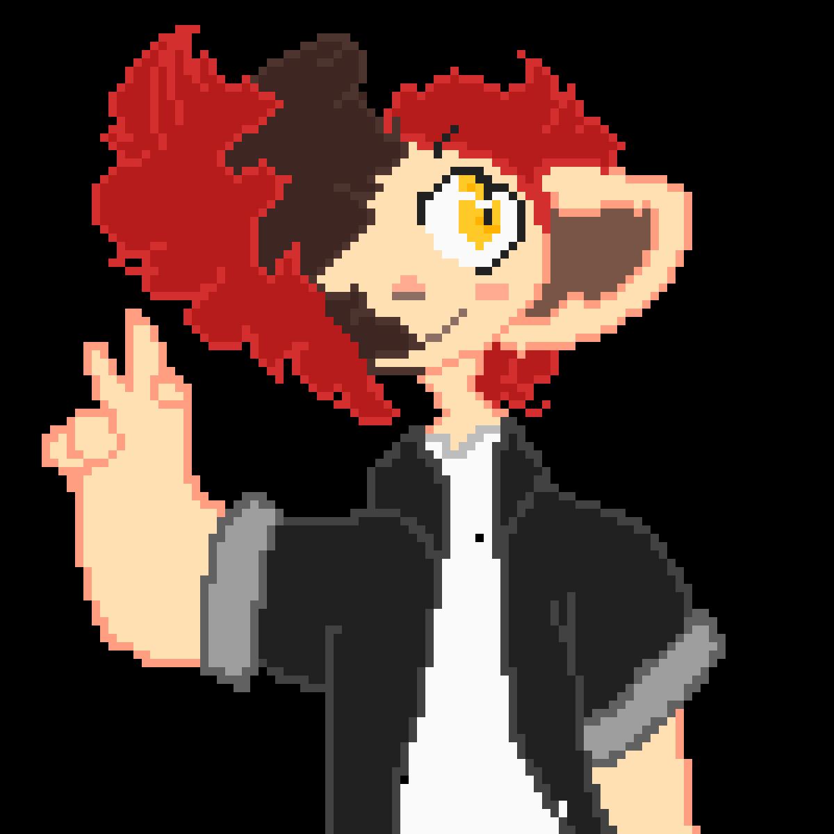Eddie! (human-ish form) by Centipidel