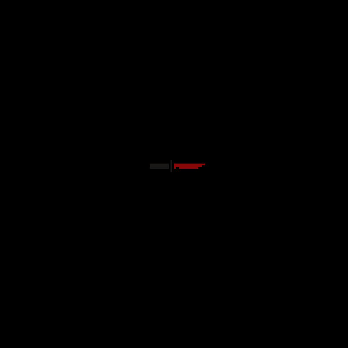 pixilart m9 bayonet crimson web by sleych