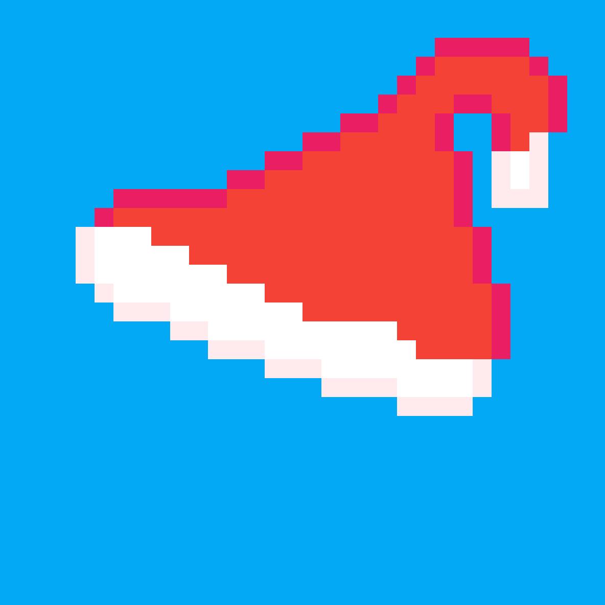 Santa hat (Cristmas art 1) by Giovanni-Reen