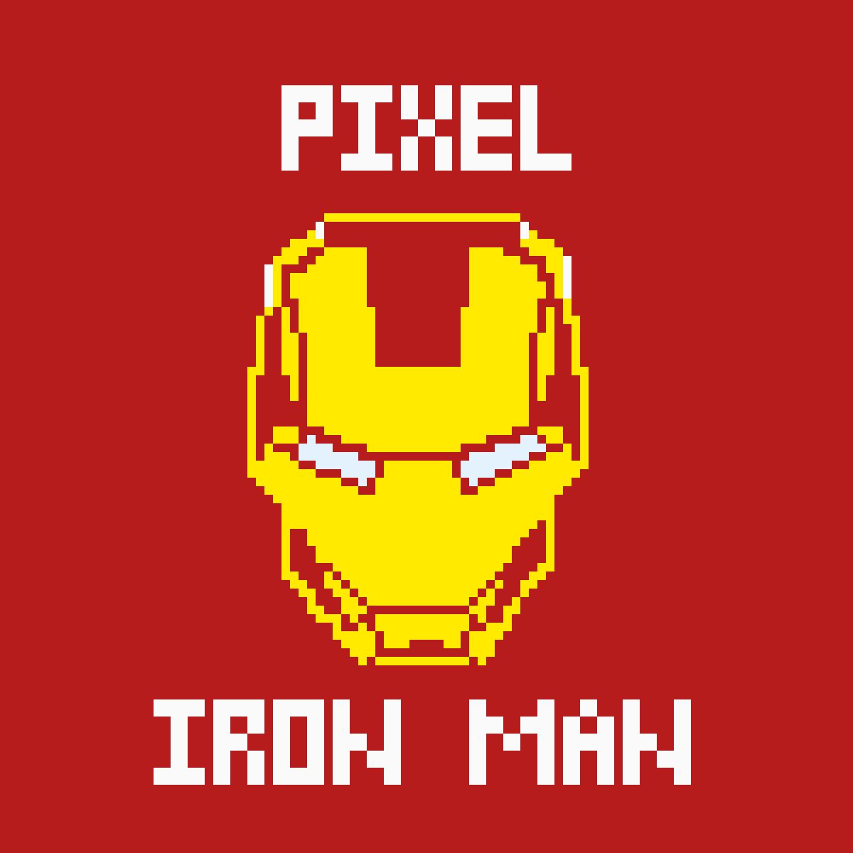 Pixel Iron man