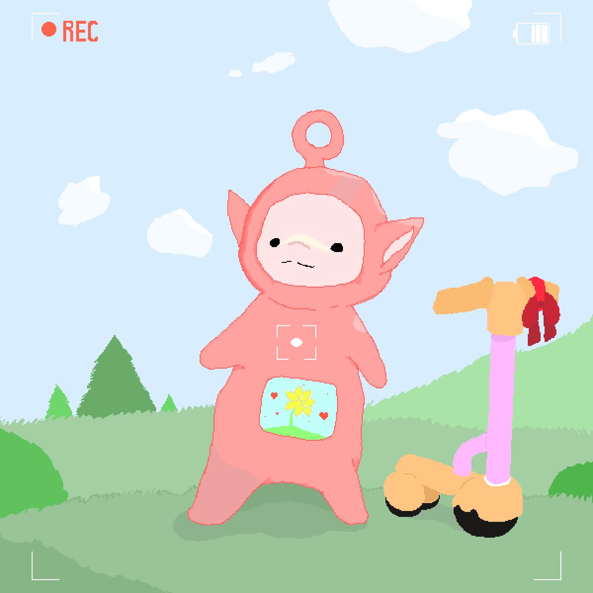 Baby Po by Sentient-Trash