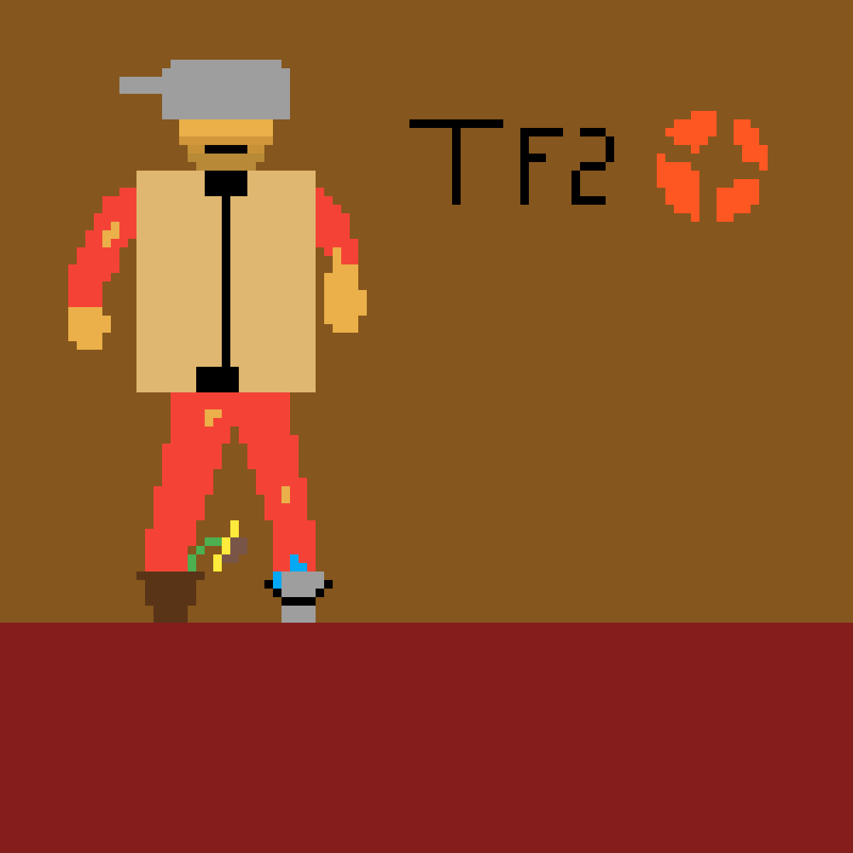 Pixilart Tf2 Soldier Cosmetic By Anonymous Did you scroll all this way to get facts about tf2 soldier? pixilart tf2 soldier cosmetic by