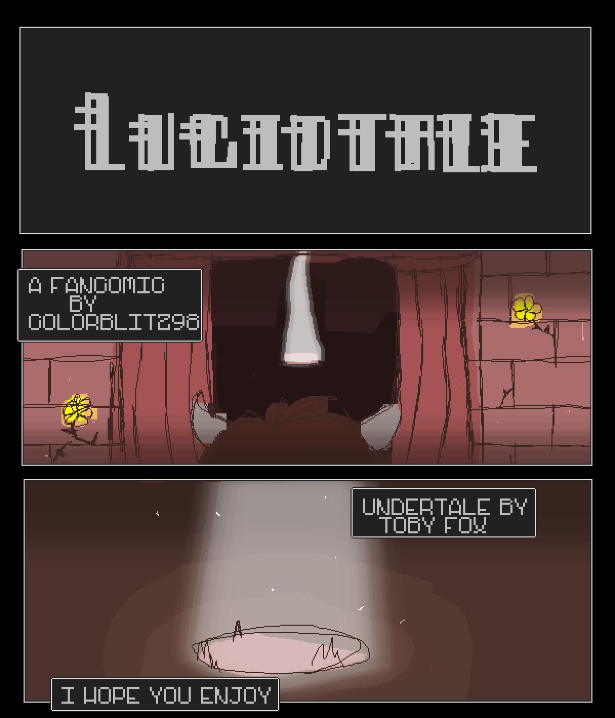 Episode 6 Lucidtale Undertale Au Pixilart Comics