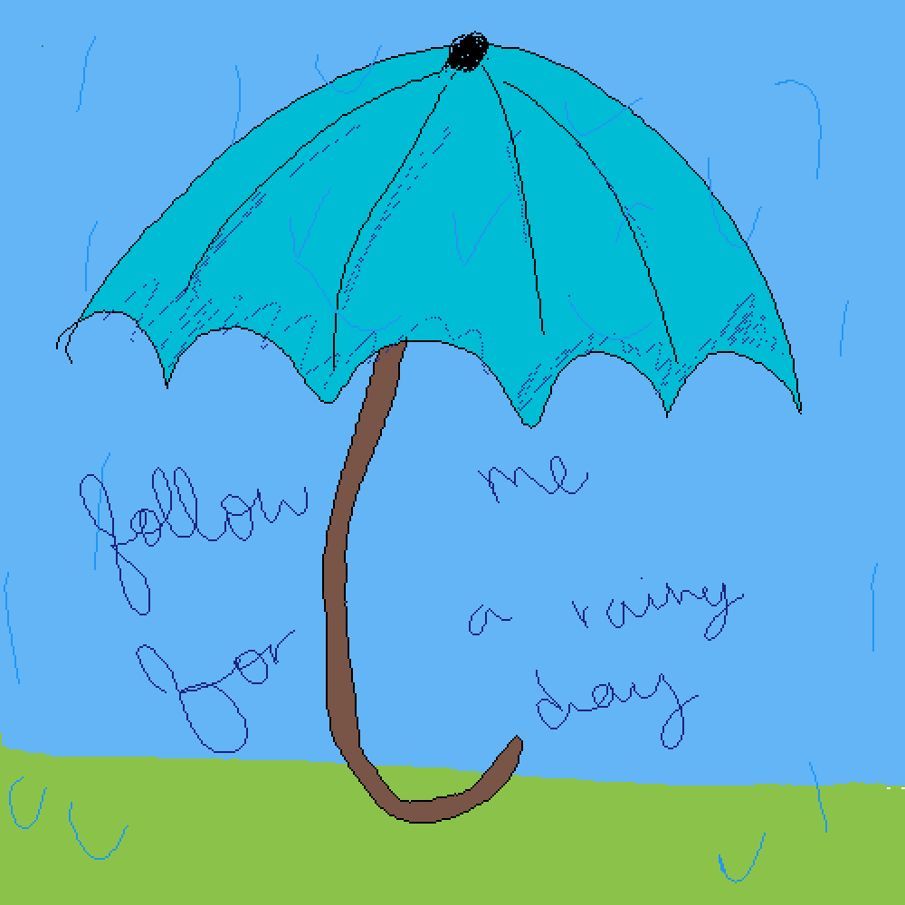 follow me for a rainy day :) by stevefollower