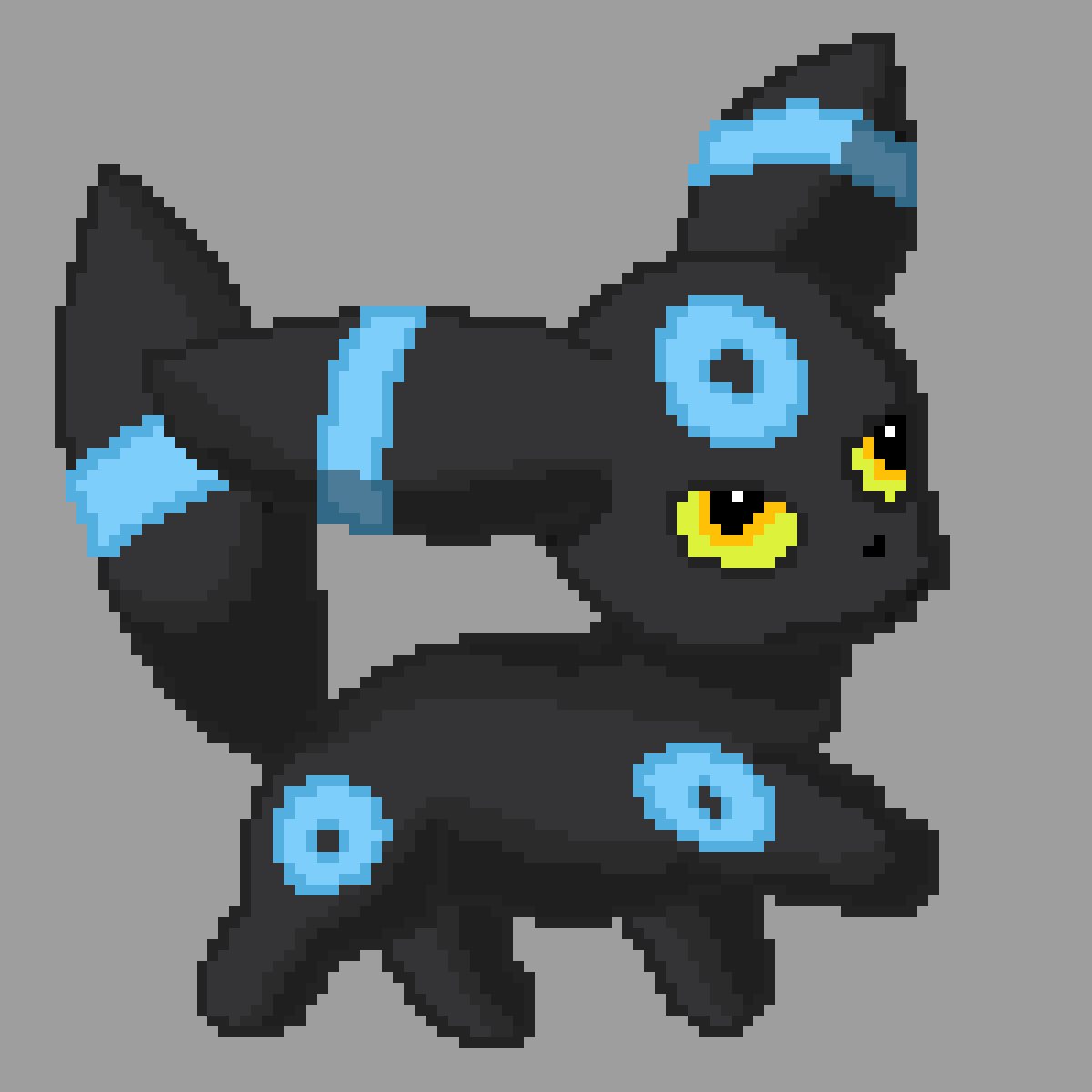 Shiny Umbreon by KittenLasers