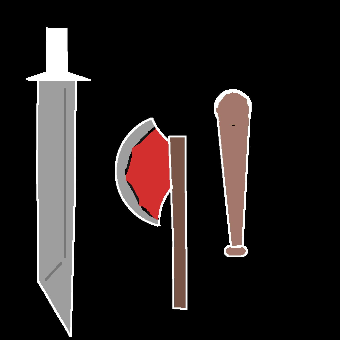 weapons by thanossnappys