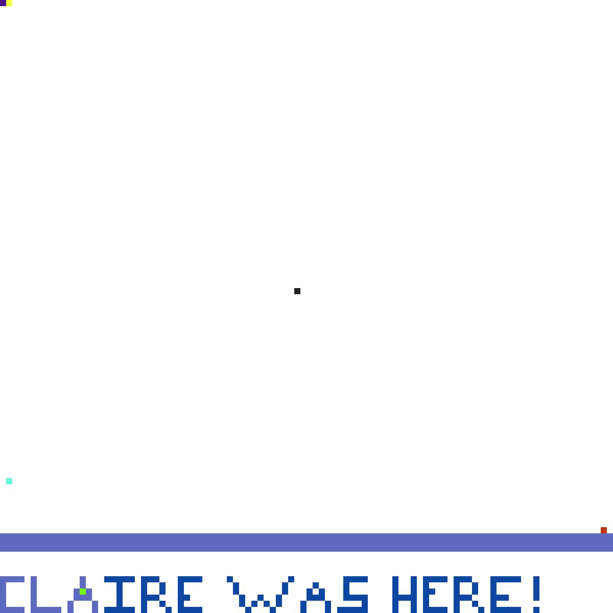 Fill in One Pixel by HippieParrot