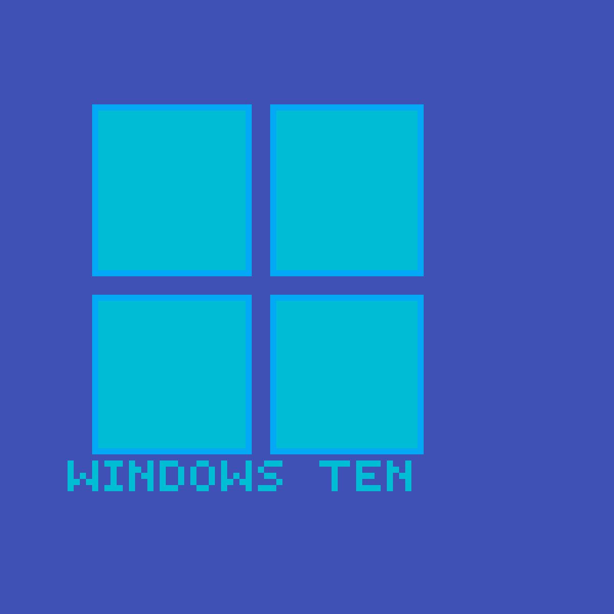Windows Ten by Krungor
